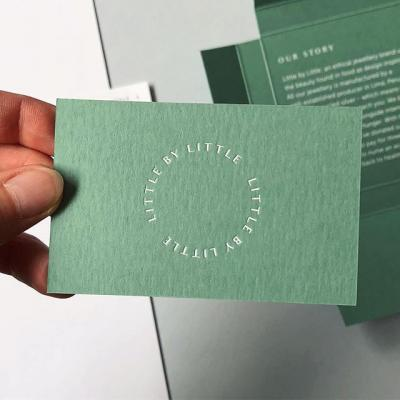 Wait...it's only February? . Since we still have a ways to go until we see some green, here's an awesome packaging project we came across this week printed on Mohawk Keaykolour Matcha Tea. (Scroll through to see the production notes.) . #Keaykolour #Packaging #Print #ColoredPaper #Color #Paper #FoilStamping #Design #DesignInspiration #Jewelry | @littlebylittlejewellery @dotstudio @barnand.co
