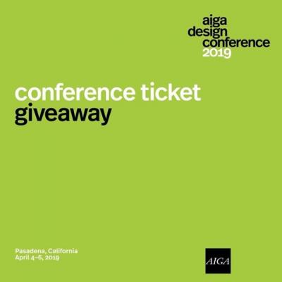 April is fast approaching, which means that the #AIGADesignConf is right around the corner. Have you had a chance to snag your ticket yet? No? Want to win one? We thought so.  We're giving away one full ticket to the conference happening in Pasadena, CA from April 4th-6th. For your chance to win, like this post and tag two friends in the comments below. The lucky winner will be announced on Monday, March 25th.  GIVEAWAY CLOSED: Congrats @ashbash_stylephx!  #Giveaway #AIGA #Design #Ticket #FreeTicket #DesignConference #AIGADesign #GraphicDesign