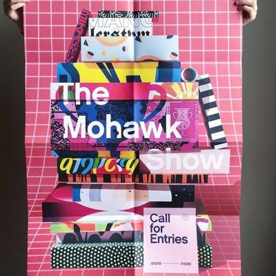 You have 209 days left to enter #TheMohawkShow. 209 days! Do you know how much you can create in 209 days? Just sayin' 😏 . 📸: @ruby.bluu . #DesignCompetition #CallForEntries #CallForSubmissions #Design #GraphicDesign #Print #PrintDesign #WhatWillYouMakeToday? #Poster